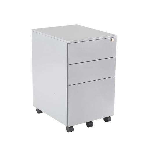 3 Drawer Under Desk Steel Pedestal