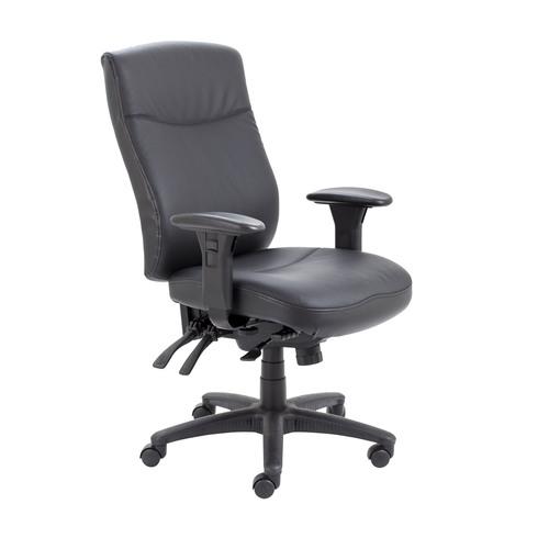 Marathon 24 Hour Leather Office Chair