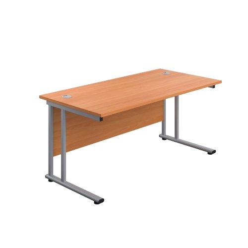 Start 1600mm Twin Upright Desk