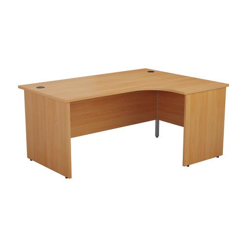 Start 1600mm Right Hand Panel End Crescent Desk