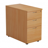 3 Drawer Desk High Pedestal - 800mm Deep