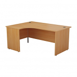 Start 1600mm Left Hand Panel End Crescent Desk