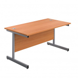 Start 1400mm Single Upright Desk