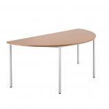 Semi-Circular Multipurpose Table